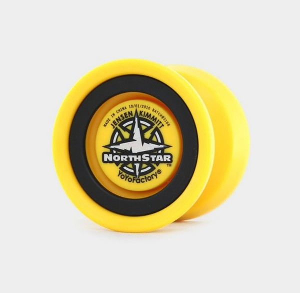 Northstar (Old) yo-yo in Yellow by YoYoFactory