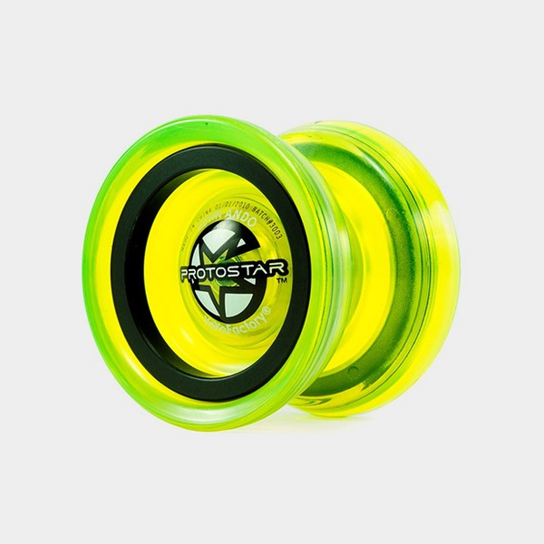 Protostar yo-yo in Neon Green by YoYoFactory