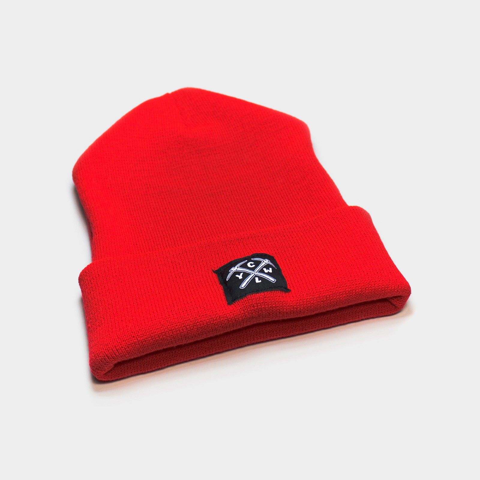 CLYW Beanie (Red) by CLYW