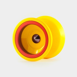 Rally yo-yo in Mango / red by One Drop YoYos