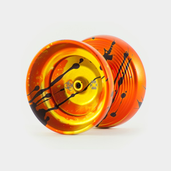 Йо-йо T1 в редакции Orange / Black Splash от One Drop YoYos