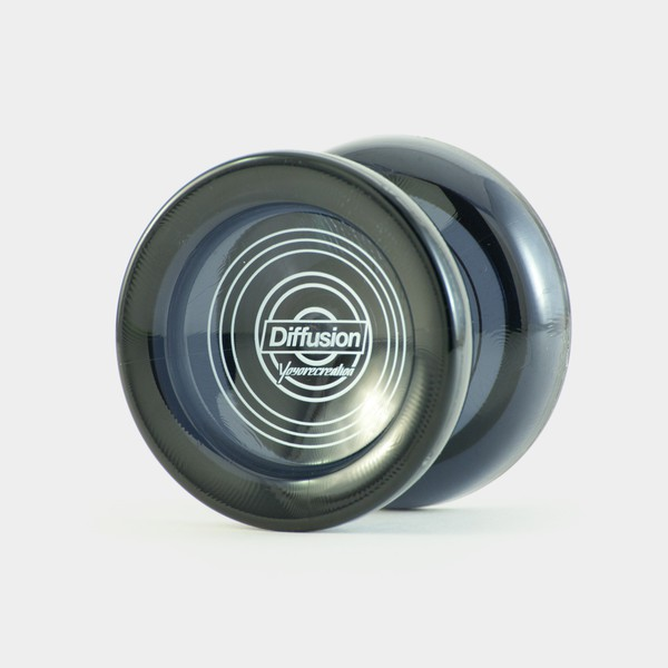 Diffusion yo-yo in Translucent Black by yoyorecreation