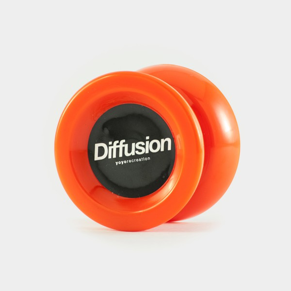 Diffusion (old) yo-yo in Red by yoyorecreation