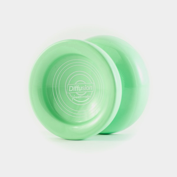 Diffusion yo-yo in Pastel Green by yoyorecreation