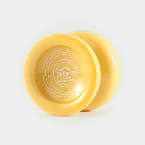 Diffusion yo-yo in Pastel Yellow by yoyorecreation