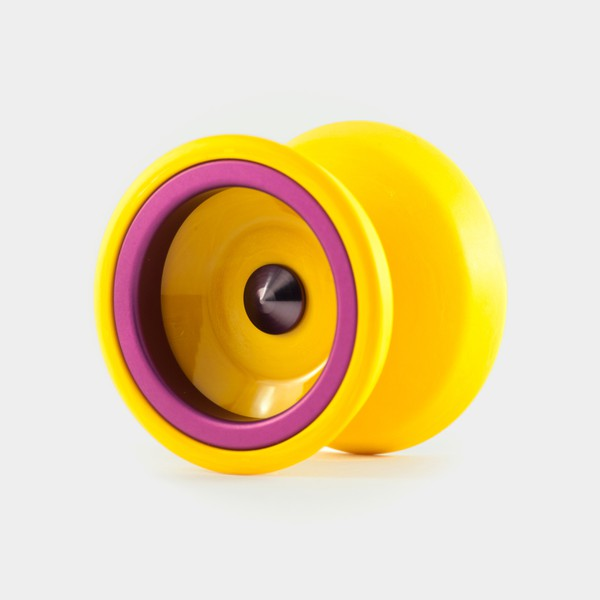 Rally yo-yo in Mango / purple by One Drop YoYos