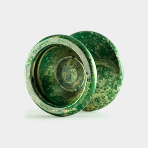 Dymension yo-yo in Dark Green / Green / Grey by C3yoyodesign