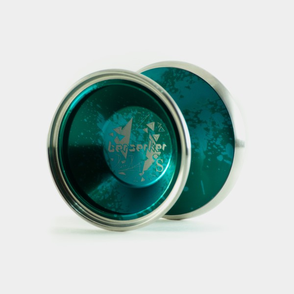 Berserker SS yo-yo in Deep Green / Light Green by C3yoyodesign