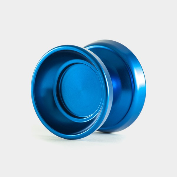 Vanguard yo-yo in Burnished Blue by One Drop YoYos