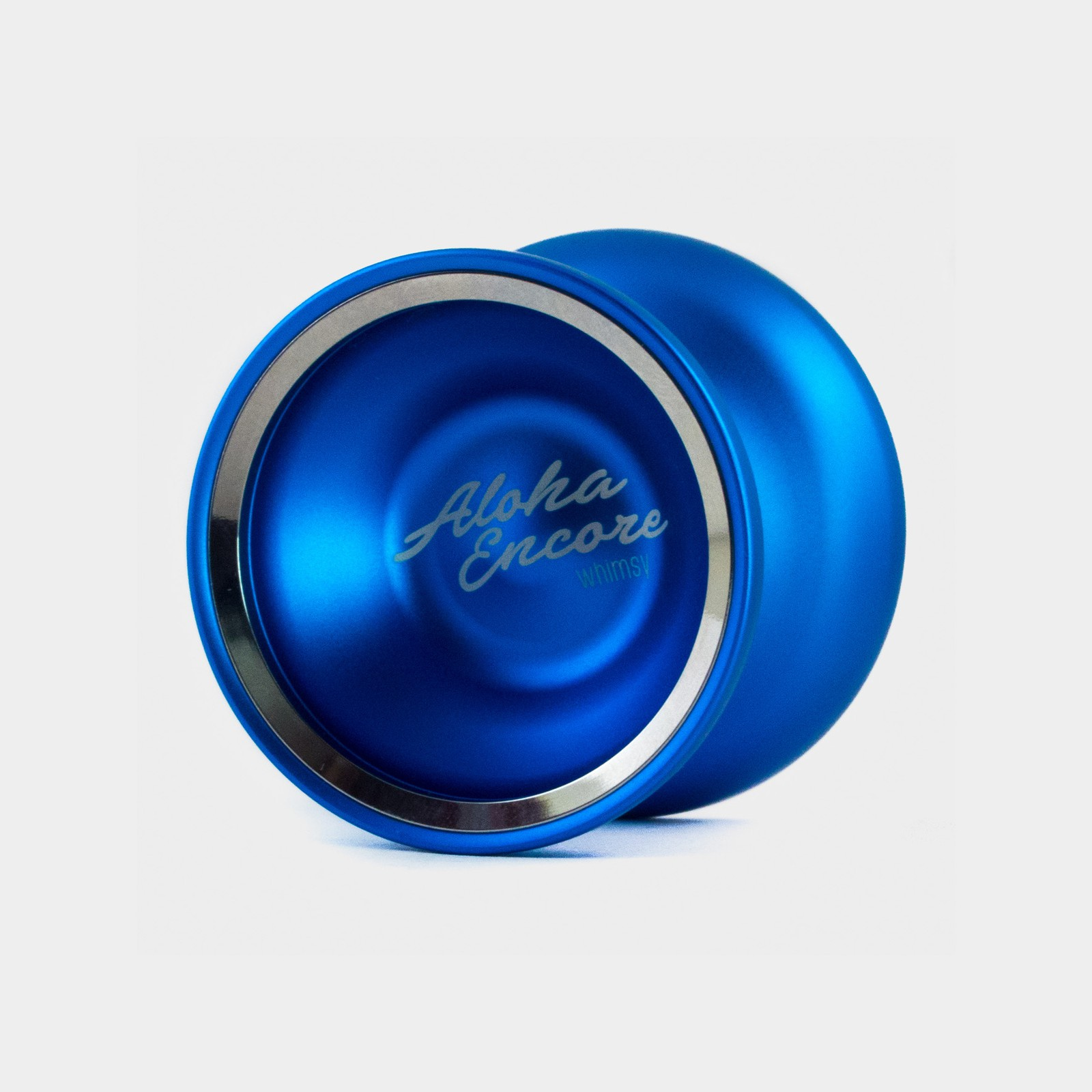 Aloha Encore yo-yo in Handshake Collection / Blue by Whimsy