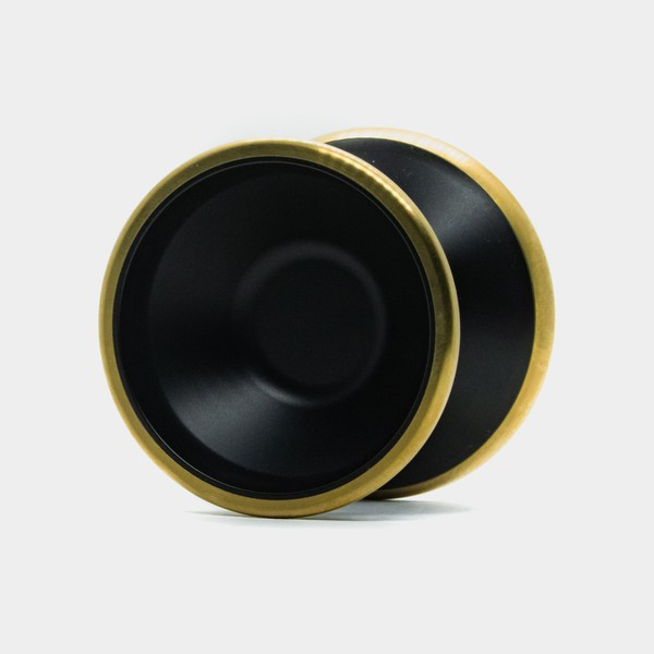 Bliss yo-yo in Black / Gold by SFYOYOS