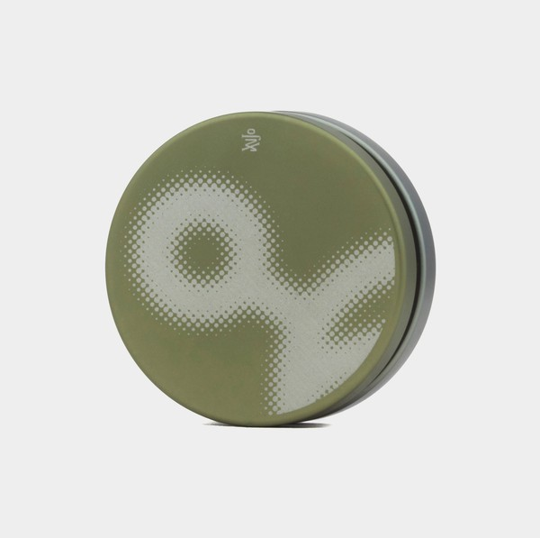 Impact yo-yo in Spinkult Ed. / Green / Grey by yoyorecreation