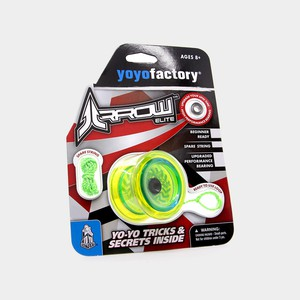 Arrow yo-yo in Translucent Green by YoYoFactory