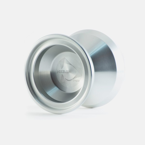 Accelerator yo-yo in Silver by C3yoyodesign
