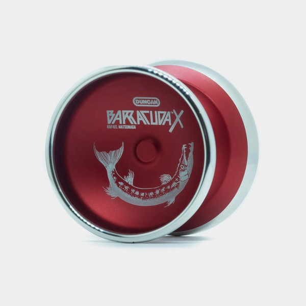 Barracuda X yo-yo in Red by Duncan