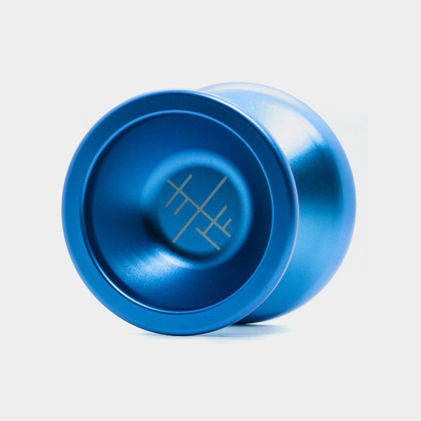 L yo-yo in Blue by SF Yoyos