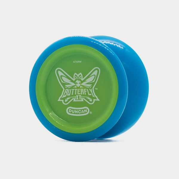 Butterfly XT yo-yo in Blue / Green by Duncan