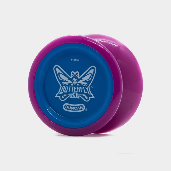 Butterfly XT yo-yo in Purple / Blue by Duncan