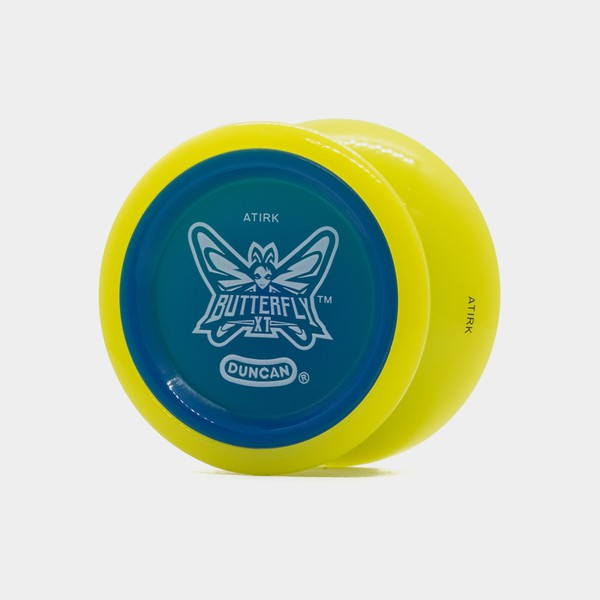 Butterfly XT yo-yo in Yellow / Blue by Duncan