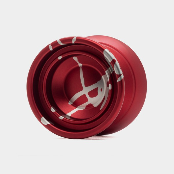 BOY yo-yo in Red / Silver by CLYW