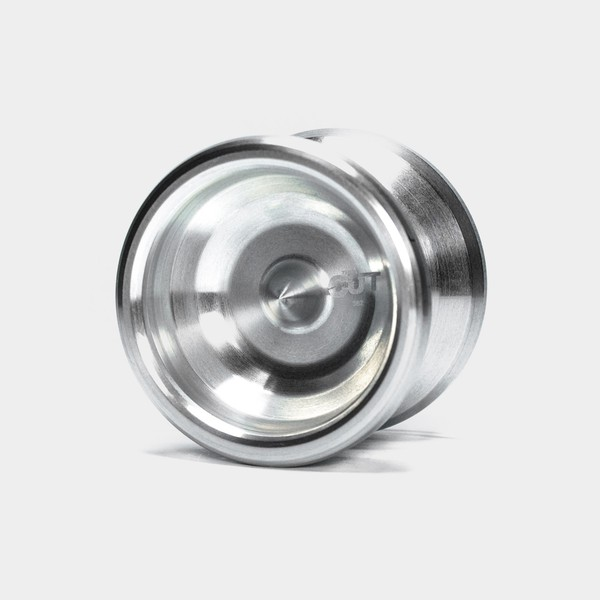 The Cut yo-yo in Raw by hspin yoyo LLC