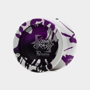 Cyber Crash yo-yo in 10th Anniversary Edition by C3yoyodesign