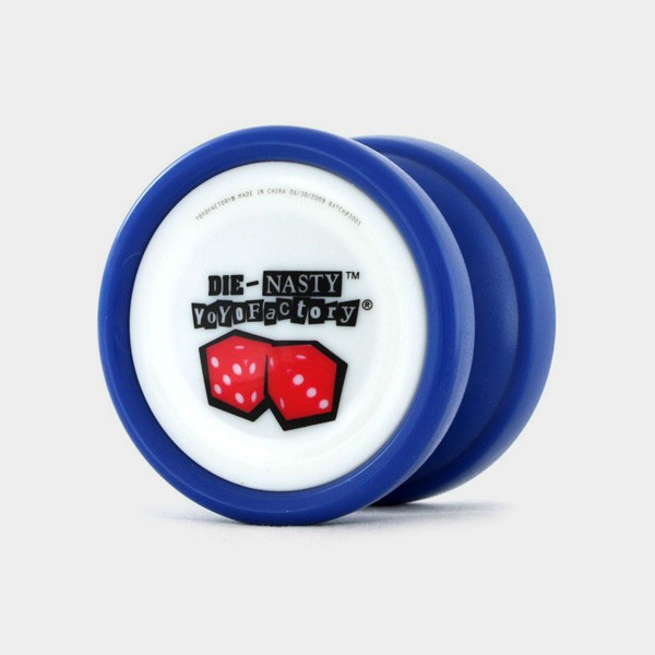 Die-Nasty yo-yo in Blue by YoYoFactory