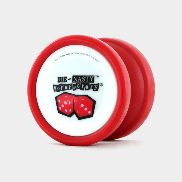 Die-Nasty yo-yo in Red by YoYoFactory