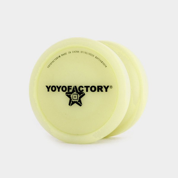 Die-Nasty yo-yo in Glow by YoYoFactory