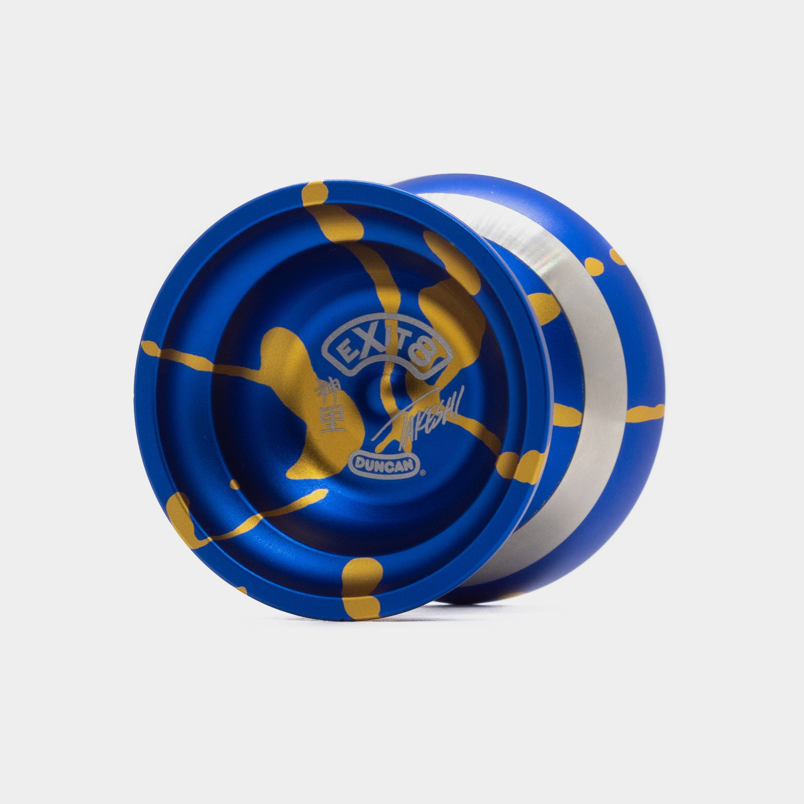 eXit 8 yo-yo in Blue / Gold by Duncan
