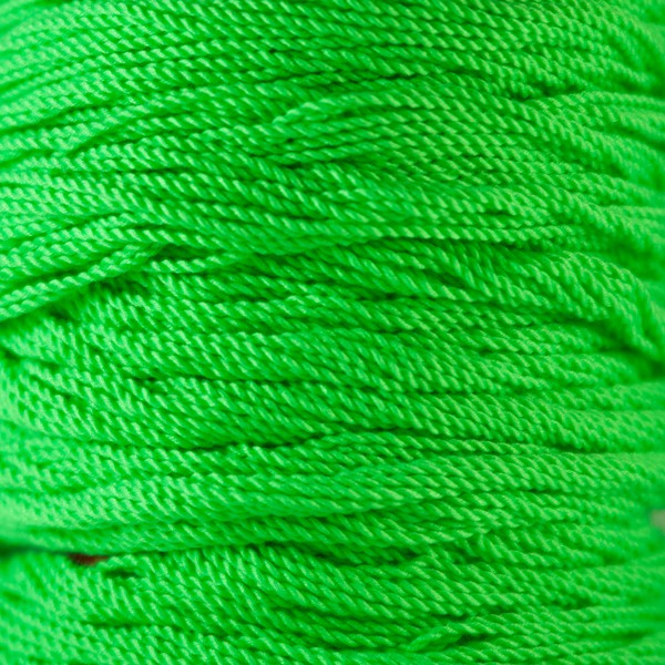 Lime Green Kitty String Fat (50 pack) yo-yo strings by Kitty String