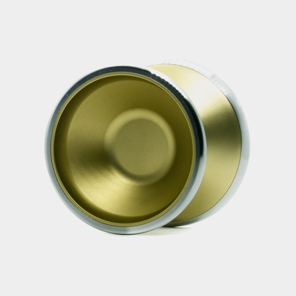 Bliss CS yo-yo in Gold by SF Yoyos