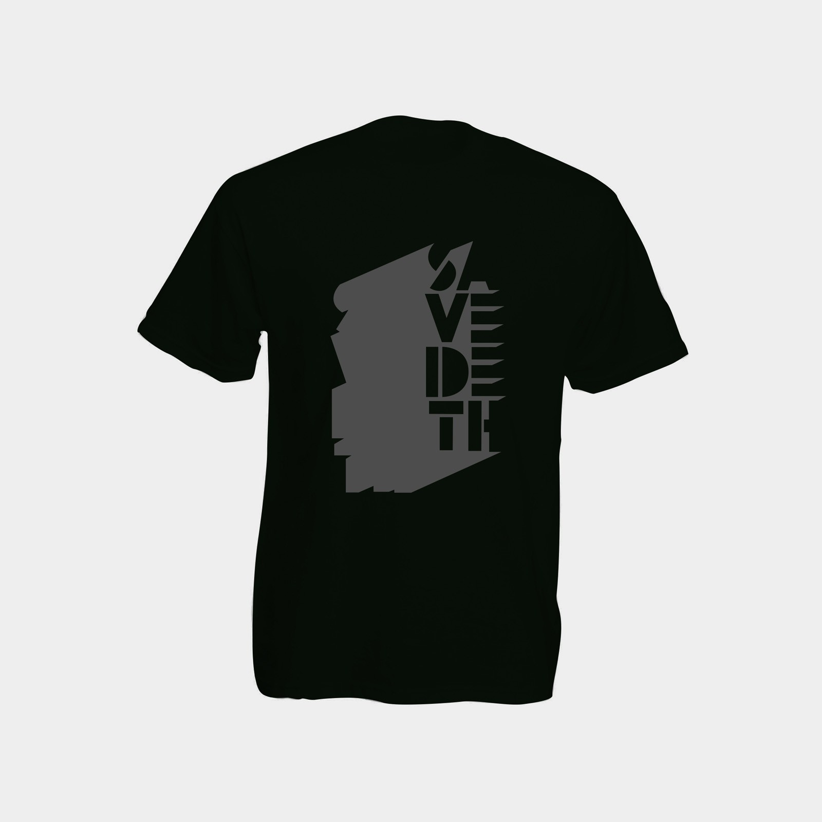 Implied / black on black (Size M) by Save Deth