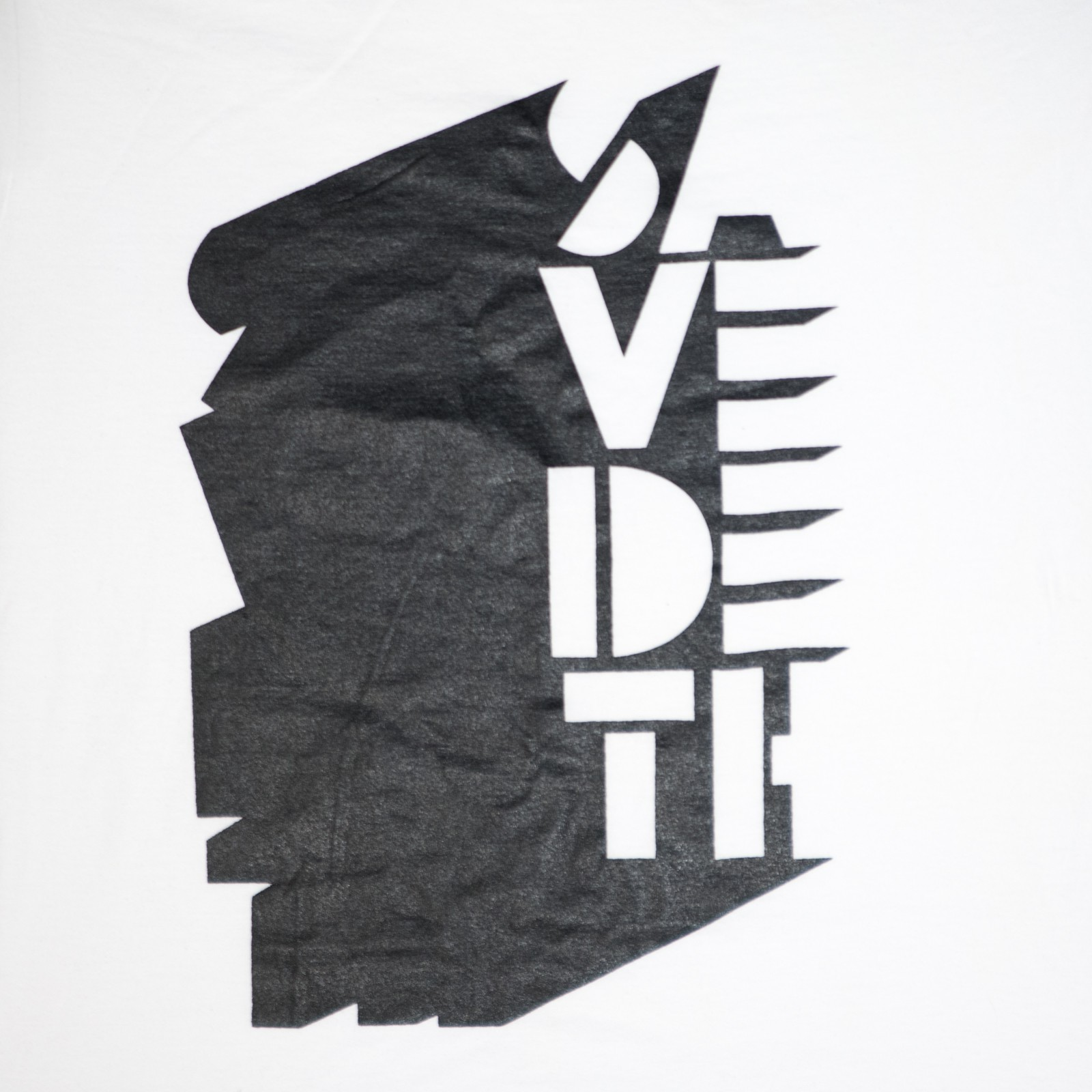 Implied / black on white (Size M) by Save Deth