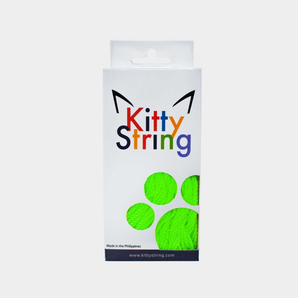 Lime Green Kitty String Normal (50 pack) yo-yo strings by Kitty String