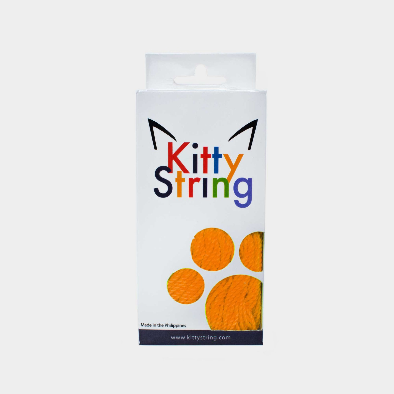 Orange Kitty String Tall Fat (50 pack) yo-yo strings by Kitty String