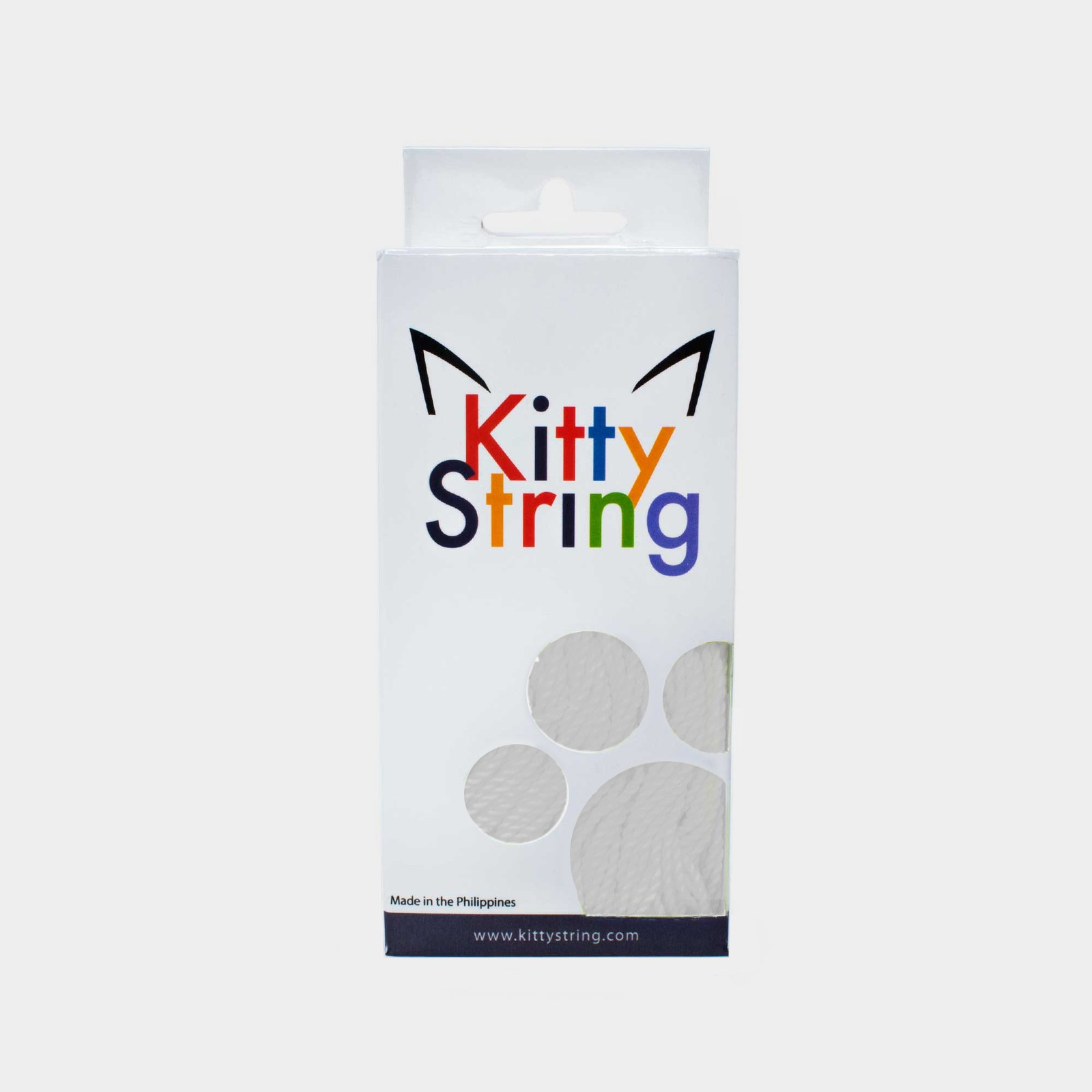 White Kitty String Tall Fat (50 pack) yo-yo strings by Kitty String