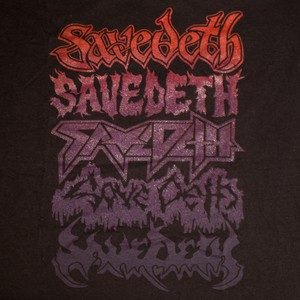 Metal tour / Red / Purple on Black (Size L) от Save Deth