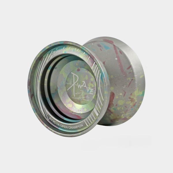 P.wave yo-yo in Grey / Blue / Yellow / Pink by C3yoyodesign