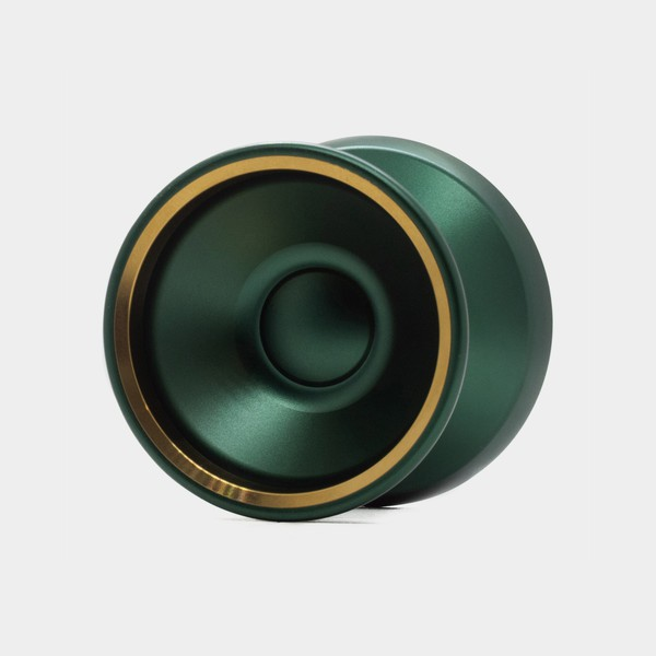 Motive yo-yo in Green / Gold by SFYOYOS