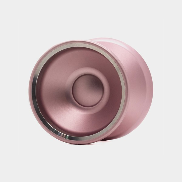 Motive yo-yo in Rose / Silver by SF Yoyos