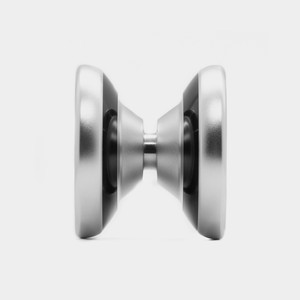 Йо-йо Shutter Wide Angle в редакции Silver / Black Bi-Metal Styling от YoYoFactory