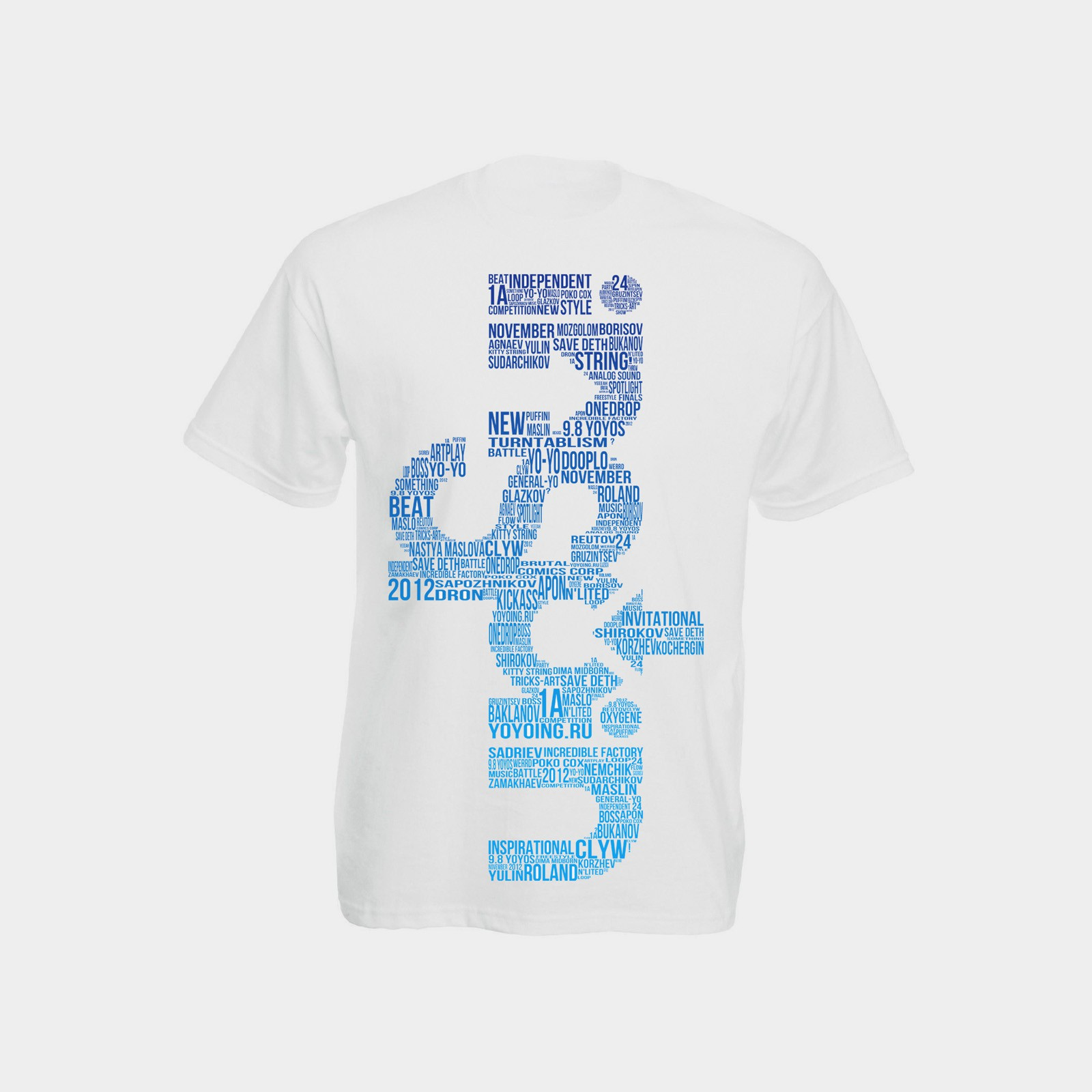 Inspin Words (Blue / Size M) by Defynit / yoyoing.ru