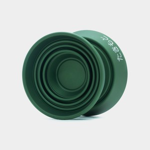 TM yo-yo in Green by yoyorecreation