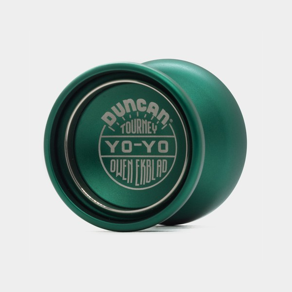 Tourney yo-yo in Green / Silver by Duncan