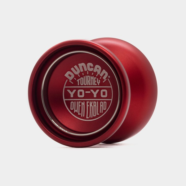 Tourney yo-yo in Red / Silver by Duncan