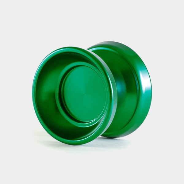 Vanguard yo-yo in Green by One Drop YoYos