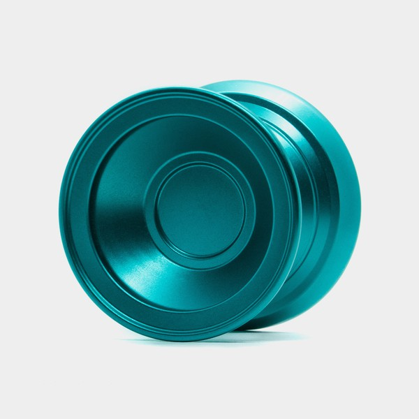 VTWO yo-yo in Teal by One Drop YoYos