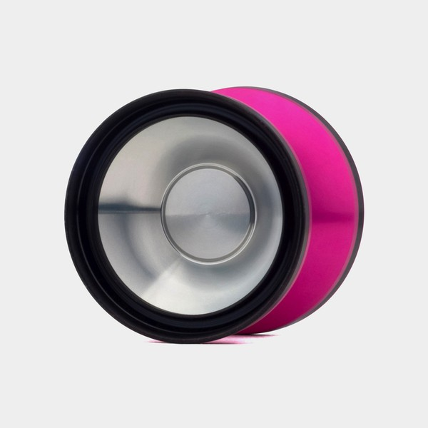 Answer yo-yo in Pink / Black / Raw by YOYOPALACE