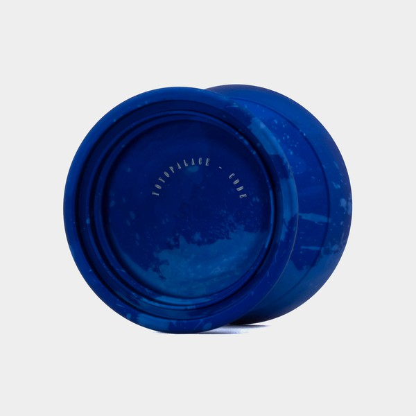 Code yo-yo in Blue / Light Blue Splash by YOYOPALACE